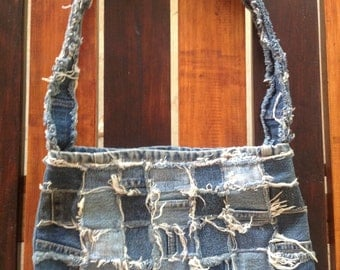 Denim Shoulder Bag 015