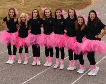 Pink tutu for Breast Cancer Awarness