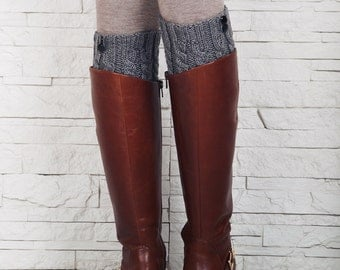 Jambières, chaussettes, tricot Boot manchettes, jambières de tricot, chaussettes, tricot chaussettes, manchettes de tricot démarrage, Boot Toppers, cadeau pour elle