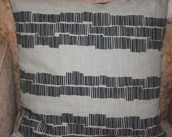 Australian Design Hand screen Print Linen Cushion cover
