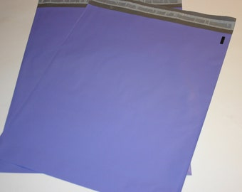 50 12x15.5 Poly Mailers PASTEL PURPLE Self Sealing Envelopes Shipping Bags Spring Easter