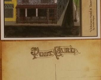 Octorara Hotel and Tavern Postcard