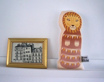 Little LION, plush, design doudou