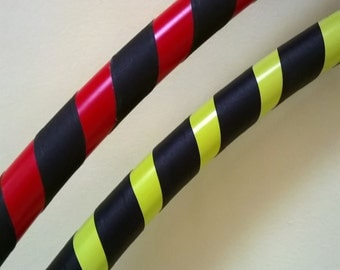 Adult Beginner Dance / Fitness Hula Hoop. Grip and vinyl deco. Full size or collapsible / travel