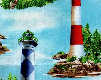 1 yd - Michael Miller - Lighthouses