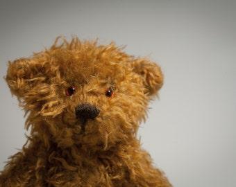 Handmade OOAK Miniature Teddy Bear - Mr. Fluffles