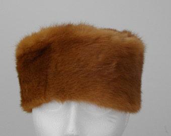 1960's MINK FUR HAT