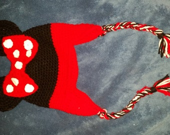 minnie mouse hat 2t