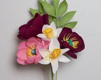 Dancing Poppies Bouquet