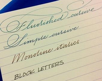 Custom Handwritten Letter