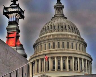 Capitol Dome (Washington, D.C.), canvas, Forex, ALU-Dibond