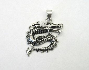 Dragon Dragon pendant Silver 925 charm