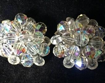Vintage German Crystal Earrings