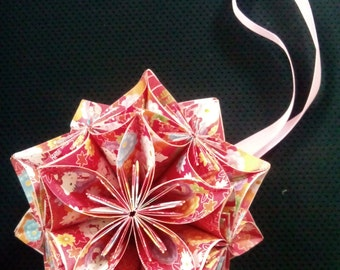 Origami Flower ball1/Kitty origami ball