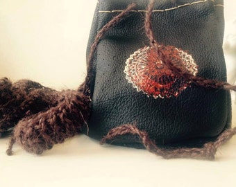 Handsewn Leather Purse