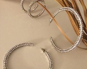 Hoop Earrings for Rhythm Dancing