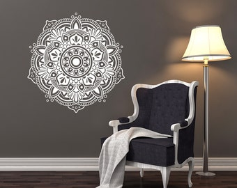 Mandala Wall Decal Etsy - Locations where sell wall decals