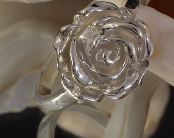 Ring Silver 925 with rose