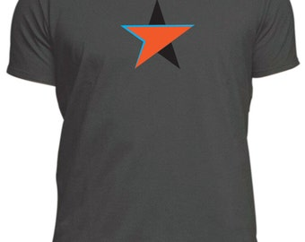 like DAVID BOWIE BLACKSTAR Design T-Shirt,new male or female, different colours, music tee,70's David Ziggy Stardust hunky dory