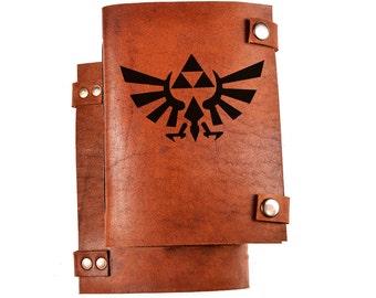 Legend of zelda journal - triforce journal - LOZ notebook - LOZ journal - triforce notebook - Legend of zelda notebook - geek gift