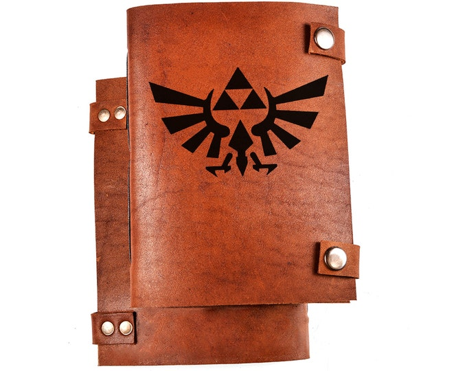Legend of zelda journal - triforce journal - LOZ notebook - LOZ journal - triforce notebook - Legend of zelda notebook - geek gift