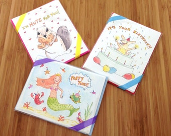 Critter Cards - Pick any 4 for 14!