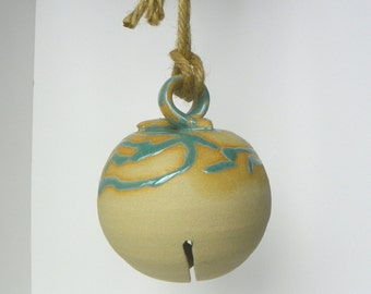 Hanging Pottery Bell