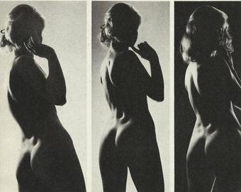 Black and white erotic art
