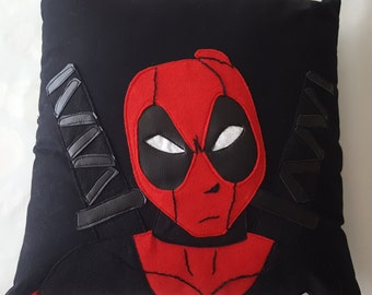 Deadpool Applique Pillow Mrv02-DP16