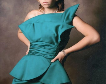 Vintage 1980's Victor Costa Gown-Holiday Show Stopper