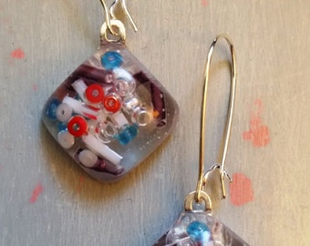 Tickle Me Colourful Earrings