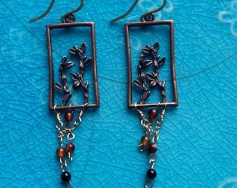 Dancing Flower Earrings