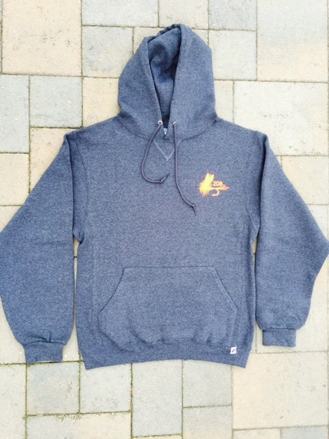 Area code art hoodie fly fishing gift 208 area code idaho for Fly fishing hoodie