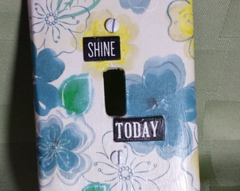 Decorative Light Switch Plate, Light Cover