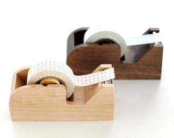 Classiky Handmade Cozy Natural Wooden Washi Tape Dispenser
