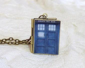 Doctor Who TARDIS Locket