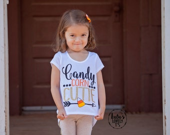 Candy Corn Cutie, Candy Corn Shirt, Trick or Treat, Halloween Shirt, Halloween Tshirt, Girls Halloween Shirt, Cute Halloween Shirt, Fall