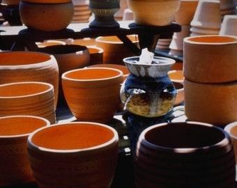 Beautiful Clay Pots Photograph #102