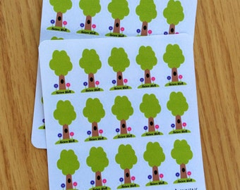 Nature walk  Planner Stickers