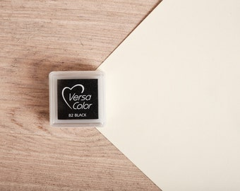 Black - Rubber Stamp Mini Ink Pad