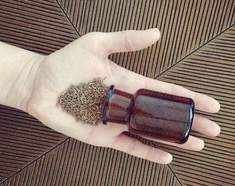 Amber Apothecary Jar, 50 ml (1.7 fl oz)