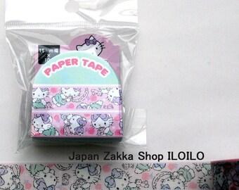 "Japan Washi Tape,Sanrio Washi Tape""Hello Kitty C"",masking tape,paper tape,kawaii"