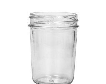 25 ~ 8oz. Mason Jars | Jelly Jars | Glass Jars ~ Bulk25