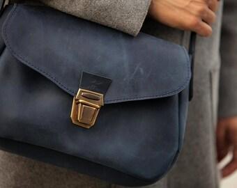 Womens leather bag, leather handbag, small leather bag, crossbody bag, leather shoulder bag, leather shoulder bag, mini bag, bag purse