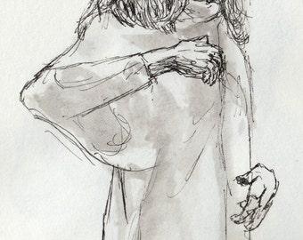 Study of Anja Plaschg