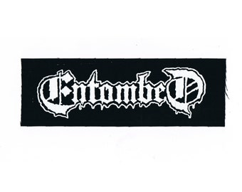 Entombed Death Metal Band Patch