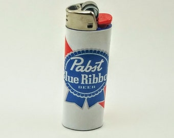 Custom Pabst Blue Ribbon Beer Lighter