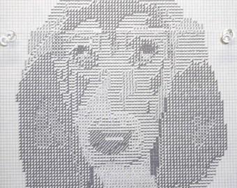 Basset Hound Dog Pattern