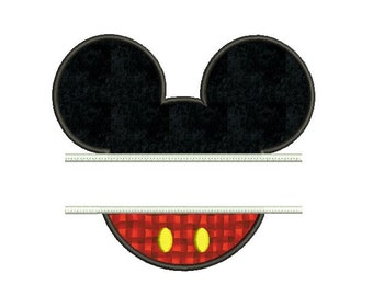 Mickey  frame embroidery , Disney embroidery applique design , Disney applique design , Mickey frame applique , 4x4 5x7 6x10 size