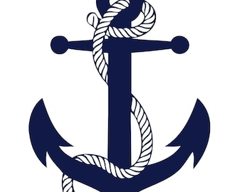 Customized Anchor 8 by 10 Canvas